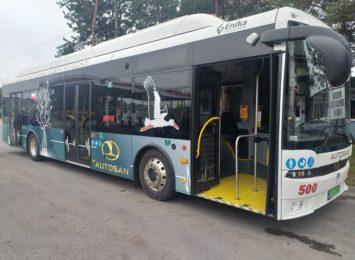 Elektryczne autobusy wyjechały na drogi