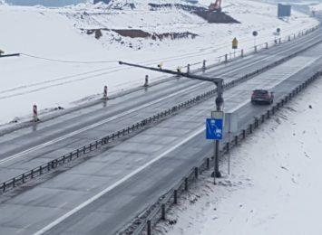 Działa już odcinkowy pomiar prędkości na pierwszym z dwóch odcinków budowanej autostrady A1