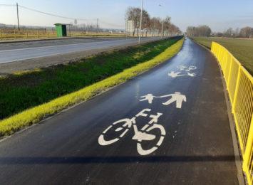 Bezpieczniej wzdłuż DK 46 w Lisowicach