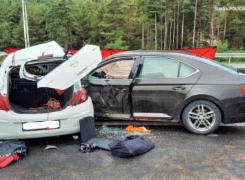Policja o 2020 na drogach: połowa ofiar to niechronieni uczestnicy ruchu drogowego