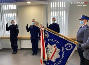 Trzech nowych policjantów w garnizonie