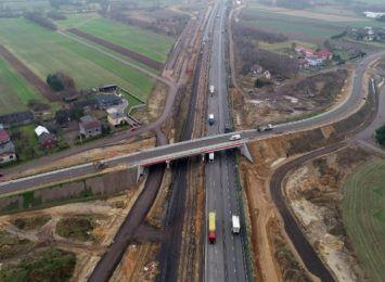 Wiadukt na A1 w Łochyni otwarty