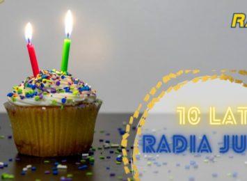 Jesteśmy z Wami od 10 lat! Radio JURA. Dzięki Wam i dla Was!