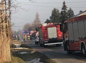 Uszkodzony gazociąg w Czarnym Lesie. Trwa akcja straży pożarnej i pogotowia gazowego [AKTUALIZACJA]