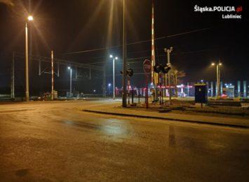 Policjanci z Lublińca namierzyli sprawcę uszkodzenia rogatki kolejowej w Herbach