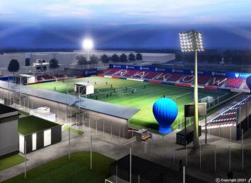 Wizualizacja stadionu dla Rakowa nie zrobiła wrażenia na kibicach, stadion gotowy na kwiecień
