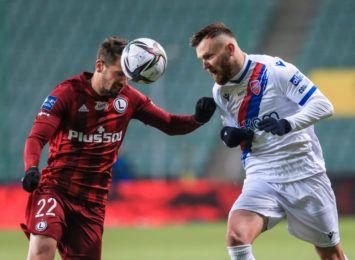 Legia Warszawa okazała się za silna dla Rakowa