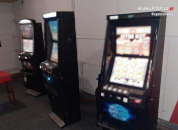 Zabawa w kotka i myszkę. Czyli nielegalne automaty do gier - znów w Kłomnicach i znów w tych samych lokalach...