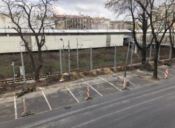 W centrum Częstochowy trwa budowa ekranów akustycznych