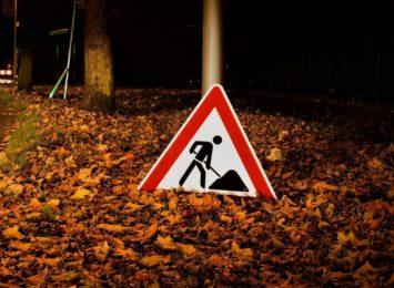 Utrudnienia drogowe w gminie Mykanów