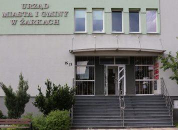 Sterylizatory powietrza dla interesantów magistratu i urzędników w Żarkach