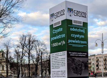 Filtr antysmogowy na Placu Biegańskiego. Testowo i w celach badawczych