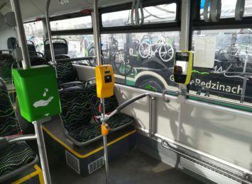 Pasażerowie GZK w Rędzinach doczekali się wreszcie w autobusach biletomatów