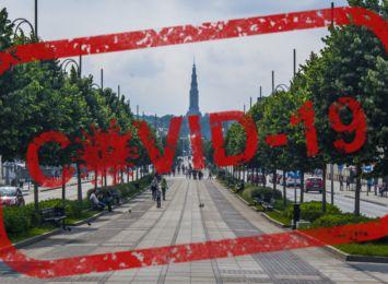 Była minuta ciszy w Częstochowie za ofiary pandemii, w mieście ponad 10 tys. zakażonych i 300 zmarłych