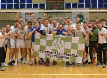 Siatkarze Eco-Team AZS-u Stoelzle Częstochowa powalczą o awans do Tauron 1. Ligi
