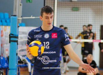 Środkowy Kamil Franczak zagra w kolejnym sezonie w Exact Systems Norwid