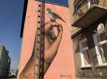 Nowy mural w Częstochowie. Uliczne dzieło powstał przy ulicy Mielczarskiego