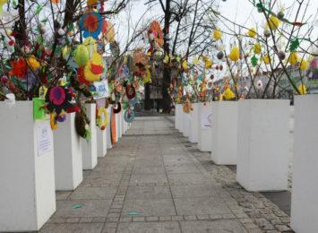 Wielkanocny klimat na Placu Biegańskiego