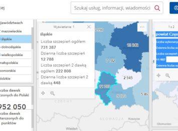 Ponad 730 tys. osób na Śląsku już zaszczepionych