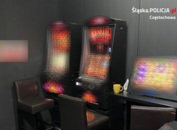Kolejne nielegalne automaty do gier zlikwidowane w Częstochowie