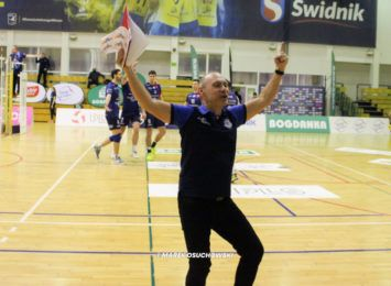 Siatkarze Exact Systems Norwid wygrali w Świdniku i są blisko 5. miejsca na koniec sezonu