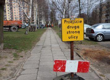 Rozpoczęła się przebudowa chodnika przy ulicy Witosa