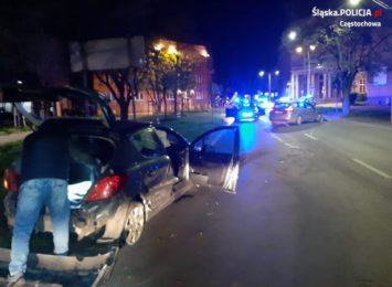 Policyjny pościg ulicami Częstochowy, padły też strzały! Znamy szczegóły tego, co wydarzyło się w nocy w centrum miasta