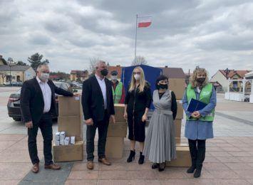 Gmina Olsztyn: Jednorazowe maseczki dla wszystkich mieszkańców