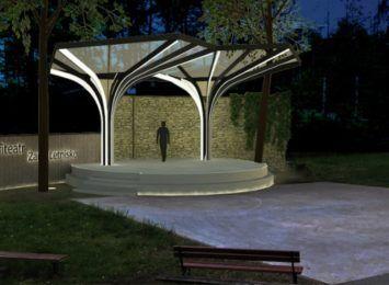 Żarki Letnisko w gminie Poraj będzie mieć nowy amfiteatr