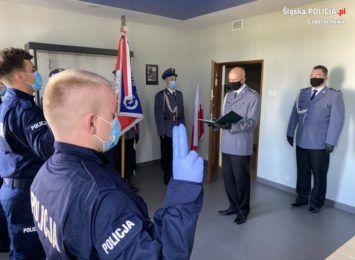 Trzech nowych policjantów w szeregach częstochowskiego garnizonu