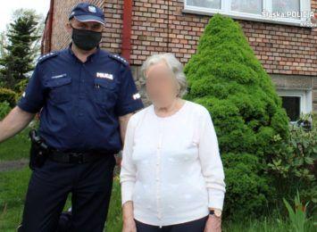 Poszukiwania 82 letniej mieszkanki Kłobucka zakończone sukcesem
