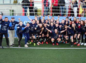 Ogromny sukces Skry Ladies! Piłkarki z Loretańskiej awansowały do I ligi