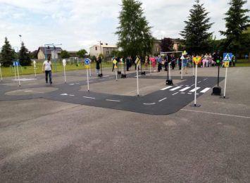 Mobilne miasteczko ruchu drogowego. Taką nowością chwali się gmina Miedźno