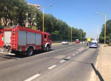 Groźny wypadek z udziałem dziecka. 4-latek w ciężkim stanie został przetransportowany do szpitala