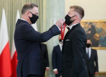 Jakub Błaszczykowski odznaczony Krzyżem Komandorskim Orderu Odrodzenia Polski
