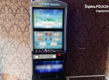 Kolejne nielegalne automaty do gier w Częstochowie