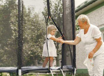 Duże trampoliny ogrodowe - ranking 2021