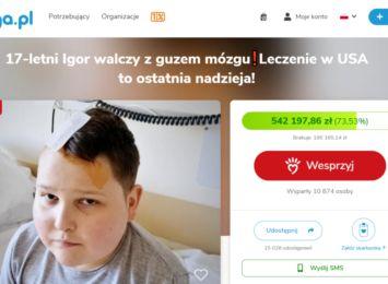 Koledzy i koleżanki 17-letniego Igora zapraszają na niedzielny (20.06) koncert charytatywny