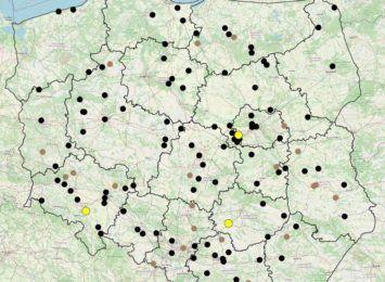Aktualizują mapę śmiertelnych wypadków drogowych. W te wakacje 7 wypadków z takim skutkiem w województwie