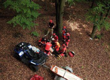 We wtorek (06.07) ratownicy Grupy Jurajskiej GOPR ćwiczą wspólnie z ratownikami medycznymi