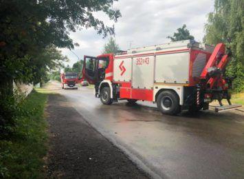 Zakończyły się działania strażaków po eksplozji butli z gazem na ulicy Wrocławskiej. Sprawą zajmują się teraz śledczy