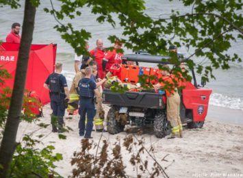 Odnaleziono ciało drugiego z mężczyzn, którzy utonęli w Bałtyku w pobliżu Rozewia