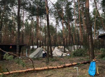 Sztab kryzysowy wojewody śląskiego - ewakuowano dzieci z obozowisk harcerskich