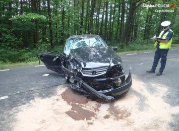 Policja apeluje o bezpieczną jazdę przed weekendem, po wypadku w Srocku