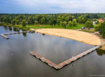 Woda w zalewie w Blachowni coraz czystsza. Spokojnie można uprawiać tam sporty wodne