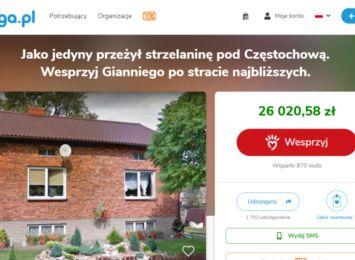 Internetowa zbiórka dla 13-latka, który w Borowcach stracił rodzinę