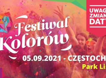 Święto Holi ponownie w Częstochowie. 5 września będzie kolorowo