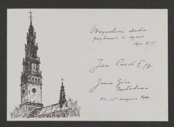 Pamiętasz ŚDM z 1991 roku? Archiwum Państwowe prosi mieszkańców o przekazanie pamiątek z przyjazdu Jana Pawła II do Częstochowy
