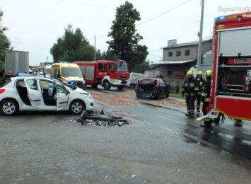 Karambol w Kamyku. Policja wyjaśnia przyczyny niedzielnego wypadku