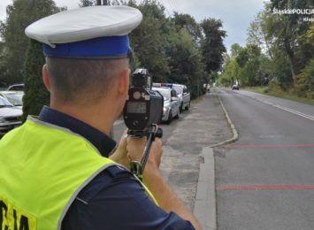 Po akcji prędkość na kłobuckich drogach - ponad 20 przypadków łamania przepisów